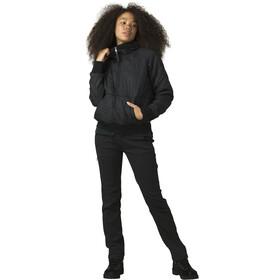 Prana Esla Pullover met 1/2 rits Dames, black